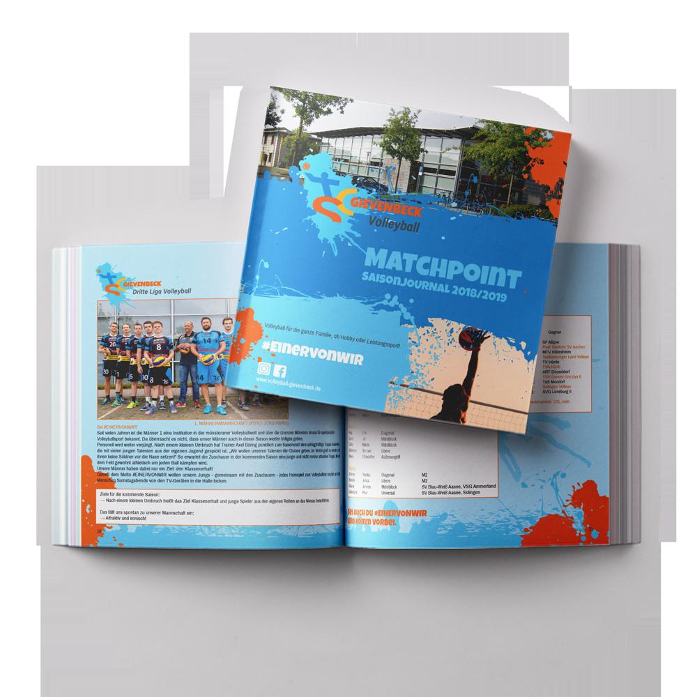 Calcanto Werbeagentur Referenz TSC Gievenbeck Broschüre