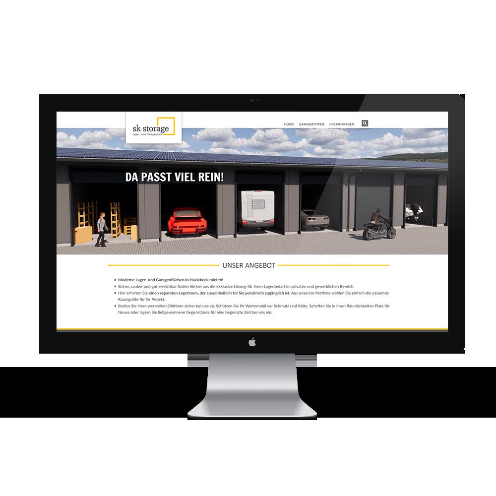 Calcanto Werbeagentur Referenz SK Storage Webseite