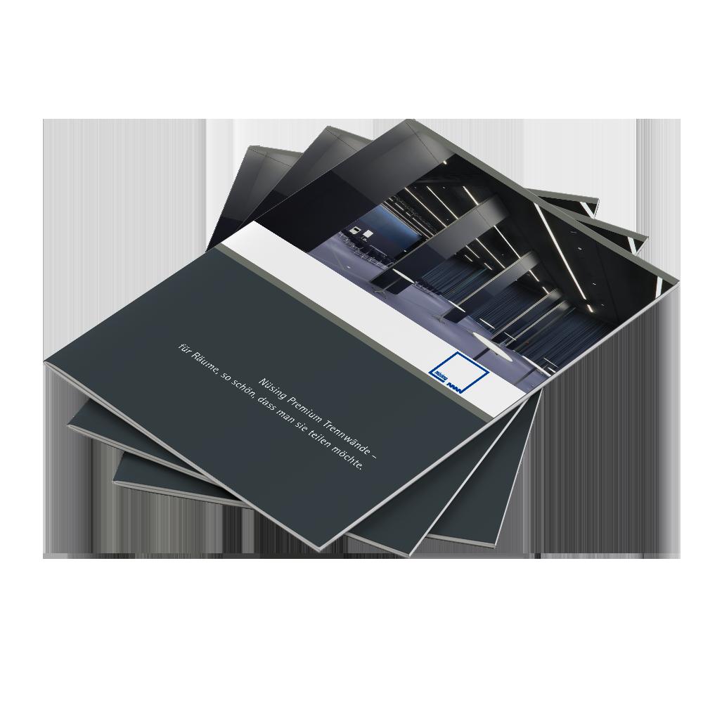 Calcanto Werbeagentur Referenz Nüsing Broschüre